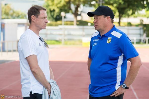 Леонид Слуцкий: Надеюсь, что в Туле с футболом всё будет хорошо