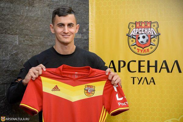 Тульский «Арсенал» заключил контракт с Георгием Костадиновым