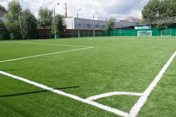 Туламашзавод открыл новое современное футбольное поле