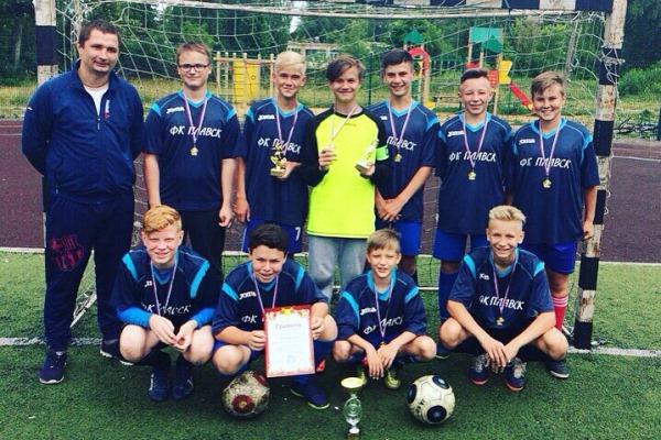 Юношеский турнир в Плавске выиграла «Португалия»