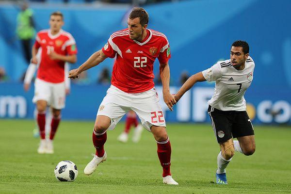 Артём Дзюба— в стартовом составе сборной России на матч с Хорватией