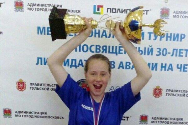 15-летняя новомосковская футболистка дебютировала в первенстве России