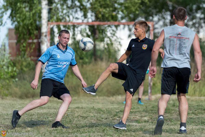 Тульский «Арсенал-м» сыграл с заключёнными в Бородинском