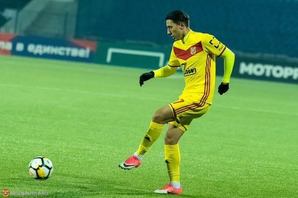 Игроки тульского «Арсенала» поддержали Михаила Александрова