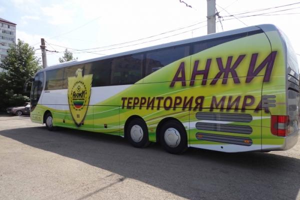 «Анжи-м» 36 часов добирался в Уфу на автобусе
