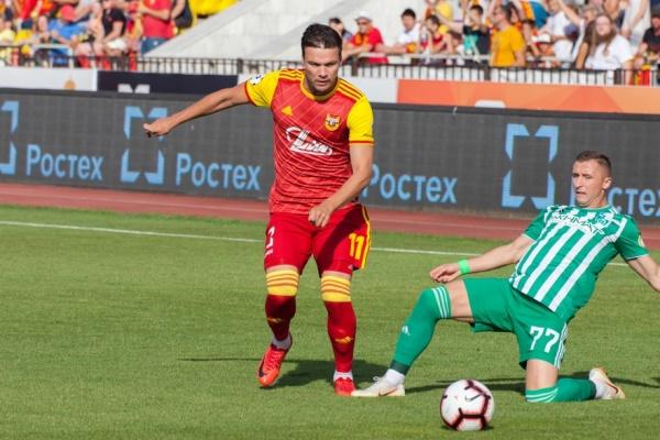 Сергей Ткачёв— в четвёрке самых бьющих футболистов чемпионата России