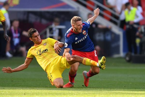 Тульский «Арсенал» проведёт контрольный матч с ЦСКА