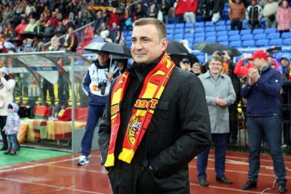 Тульский «Арсенал» поздравил Алексея Дюмина с 46-летием