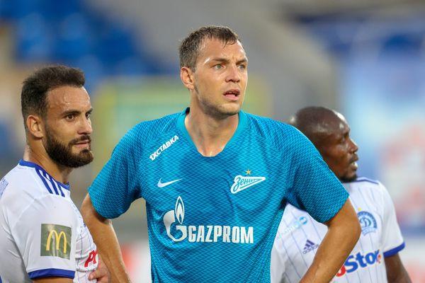 Артём Дзюба вышел на 7-е место среди снайперов российских клубов в еврокубках