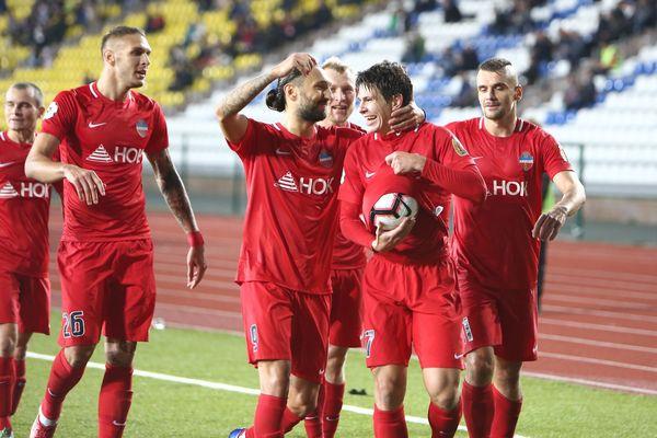 «Енисей» Аленичева перед матчем с «Арсеналом» одержал первую победу в премьер-лиге