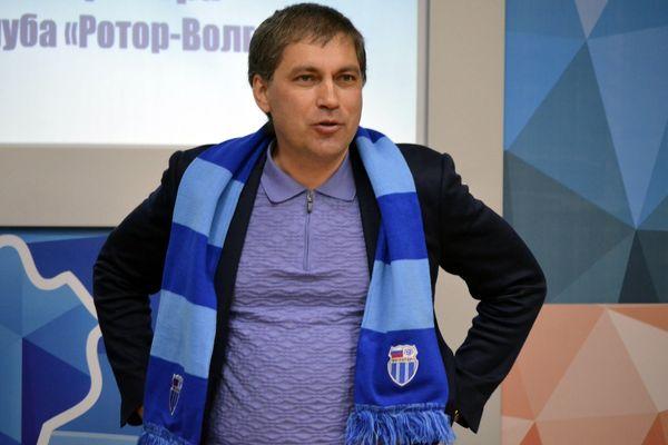 «Ротор» отказался принимать отставку Роберта Евдокимова