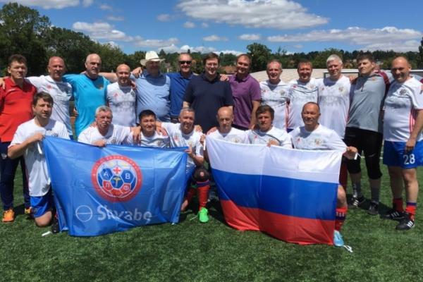 Российские врачи уступили украинским титул чемпиона мира по футболу