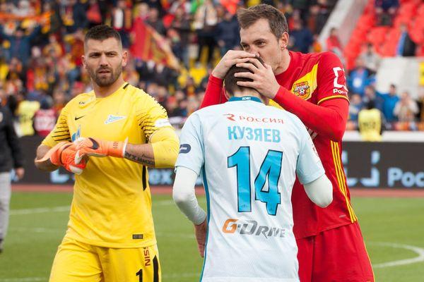 Артём Дзюба— в стартовом составе «Зенита» на матч с тульским «Арсеналом»