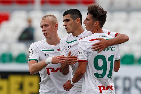 «Локомотив-м» одержал самую крупную победу на старте первенства молодёжных команд