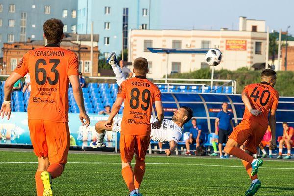 Игорю Шевченко хватило 3 минут, чтобы забить первый гол за «Сызрань-2003»