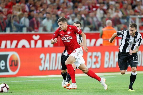 «Спартак» выбыл из розыгрыша Лиги чемпионов