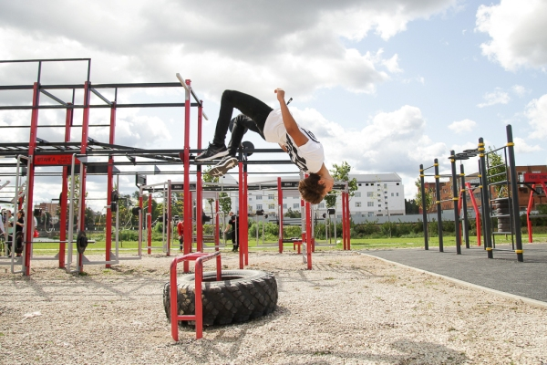 На набережной Упы в Туле можно будет бесплатно заниматься спортом под руководством тренеров (+фото)