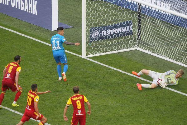 WhoScored: Михаил Левашов— лучший игрок тульского «Арсенала» в матче с «Зенитом»