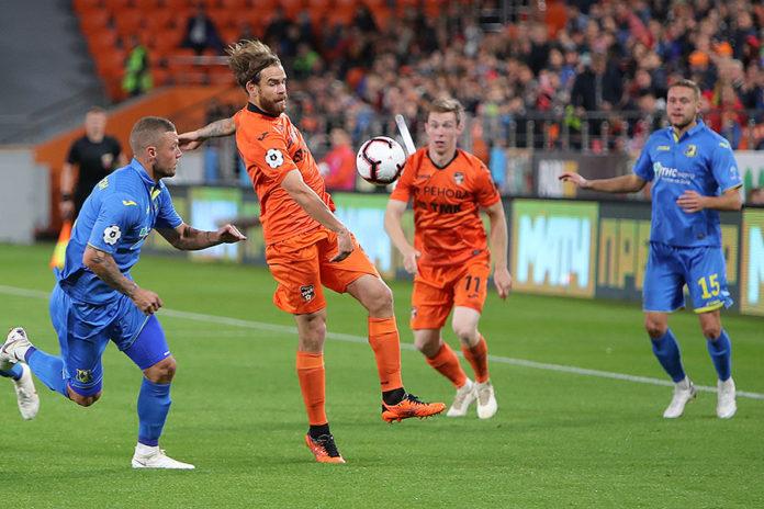 «Урал» сыграл вничью с «Ростовом», тульский «Арсенал» поднялся на 11-е место