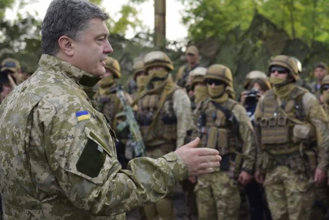Порошенко о силовом возвращении Донбасса: армия должна быть готова к любым сценариям