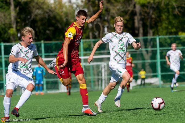 Даниил Хлусевич: В перерыве матча с «Рубином-м» дали установку больше играть вперёд