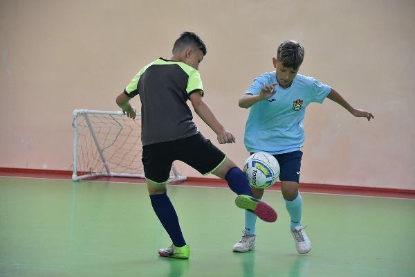 В Туле прошёл детский турнир по монофутболу