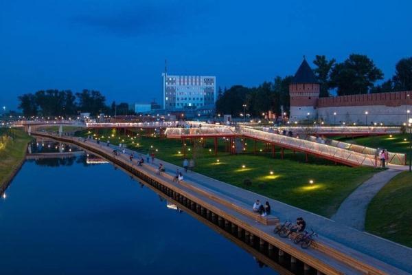 Тульский «Арсенал» поучаствует в открытии Казанской набережной