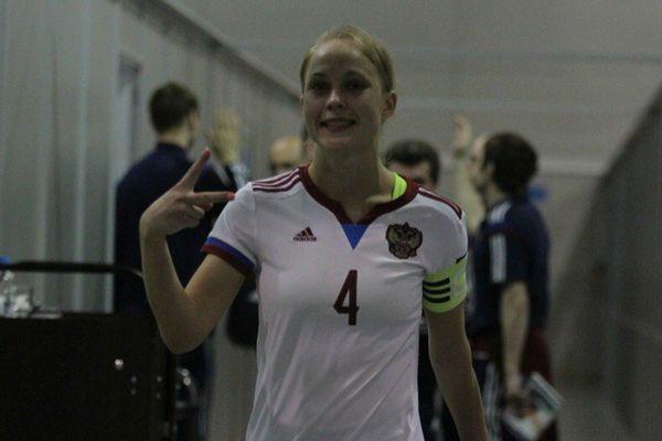 Гол Самородовой помог мини-футболисткам России разгромить Словению