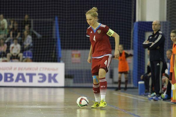 Александра Самородова сыграет в решающем отборе к ЧЕ по мини-футболу