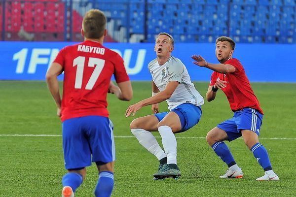 Гол Макаренко принёс «Сибири» ничью с «Ротором», Обольский забил первый гол в ФНЛ