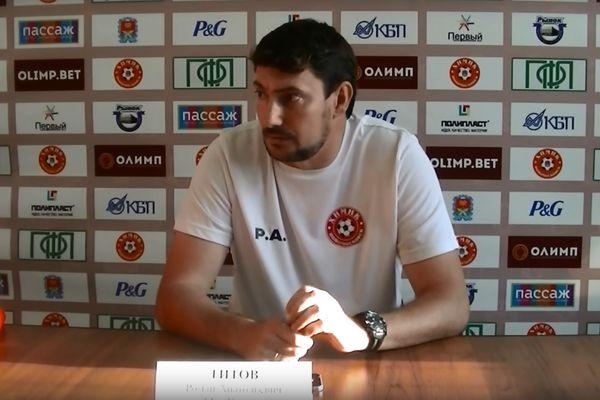 Роман Титов: «Химик» стал играть в два нападающих и продавил защитников «Сатурна»