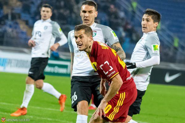 Тульский «Арсенал» пожелал Горану Чаушичу успехов