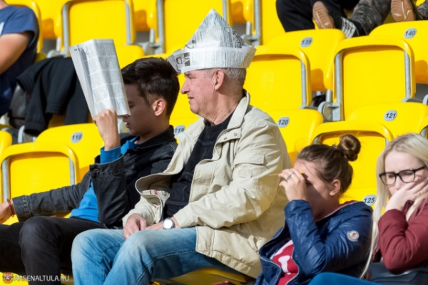 Матч «Енисей» — «Арсенал» собрал в Красноярске больше зрителей, чем в Тюмени