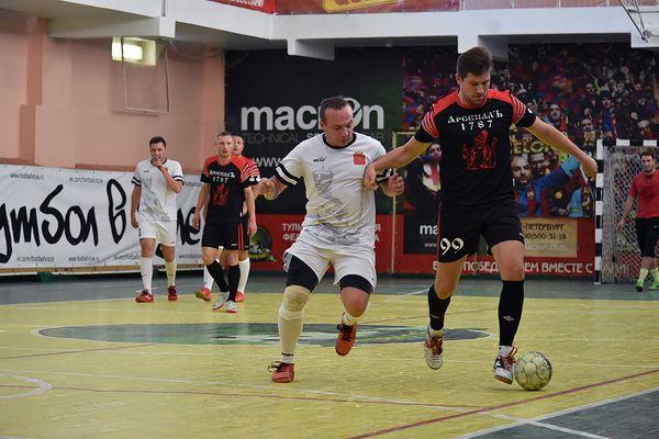 «АрсеналЪ-1787» и ЛДПР идут без поражений в чемпионате Тулы по мини-футболу