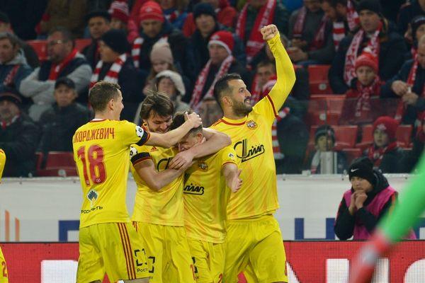 Тульский «Арсенал» опубликовал фото из раздевалки после победы над «Спартаком»
