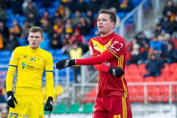 Сергей Ткачёв — самый дорогой футболист тульского «Арсенала»