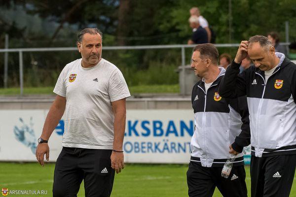 Миодрагу Божовичу будут ассистировать два экс-тренера тульского «Арсенала»