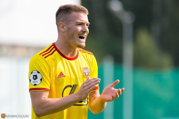 Тульский «Арсенал» проигрывает «Спартаку» после первого тайма