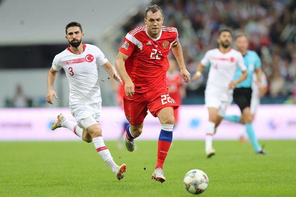 Сборная России победила Турцию в Лиге наций