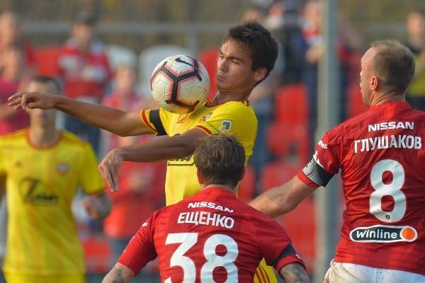 Тульский «Арсенал-м» проиграл «Спартаку-м»