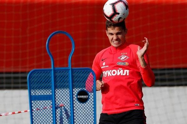 «Спартак» готовится к матчу с тульским «Арсеналом» в полном составе