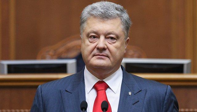 Порошенко предлагает парламенту ввести военное положение на 30 дней