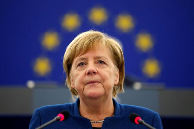 Меркель выразила Украине поддержку в ее противостоянии с Россией