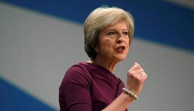 Тереза Мэй настаивает на санкциях против России в связи с ее агрессией на Азове