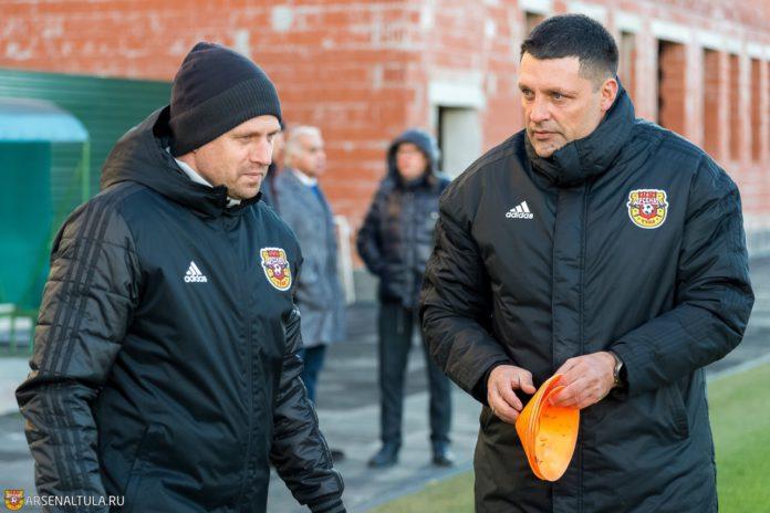 Тульский «Арсенал» подтвердил назначение Черевченко главным тренером, Семшов вошёл в его штаб