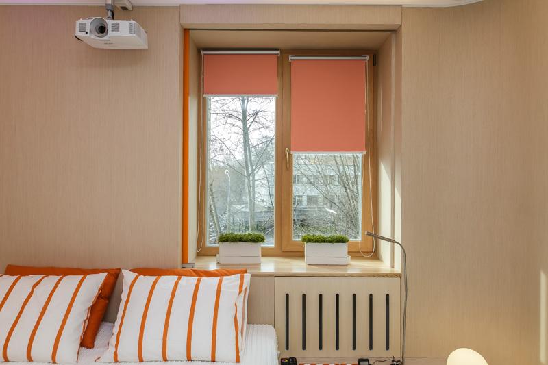 Растущий тренд: рулонные шторы