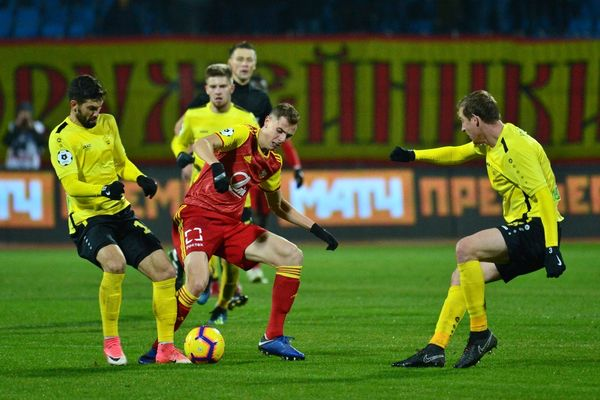 WhoScored: Лука Джорджевич — лучший игрок матча «Арсенала» и «Анжи»