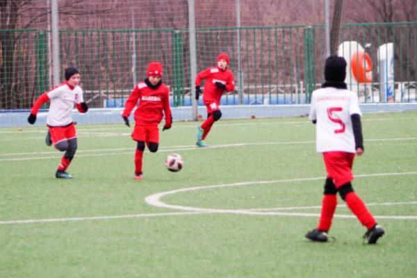 Воспитанники тульского «Арсенала» сыграли в Москве с «Красногвардейцем»