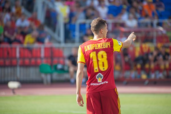 Лука Джорджевич сыграл 9 минут за сборную Черногории