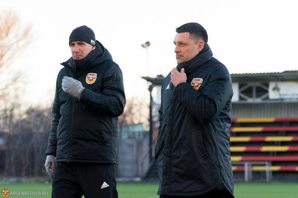 Контракт тульского «Арсенала» с Игорем Черевченко рассчитан до конца сезона